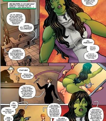 She-Hulk comic porn sex 003