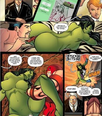 She-Hulk comic porn sex 004
