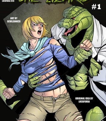 Porn Comics - She Lizard 1