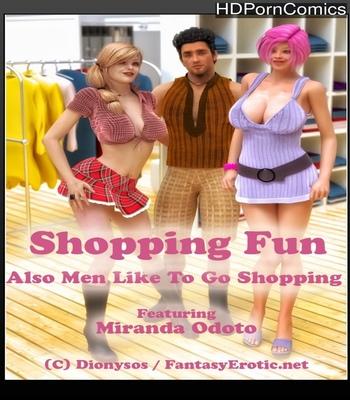 Shopping Fun comic porn