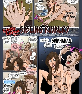 Porn Comics - Sibling Rivalry