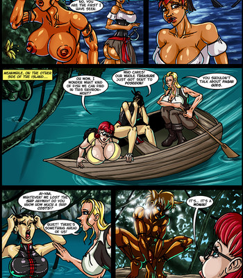 Side Dishes 2 – Cap'n Lily On Foo-Tah Island comic porn sex 003