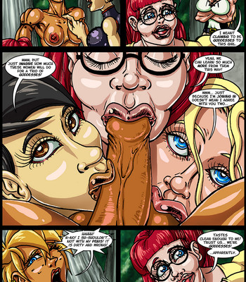 Side Dishes 2 – Cap'n Lily On Foo-Tah Island comic porn sex 013