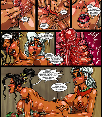 Side Dishes 2 – Cap'n Lily On Foo-Tah Island comic porn sex 022