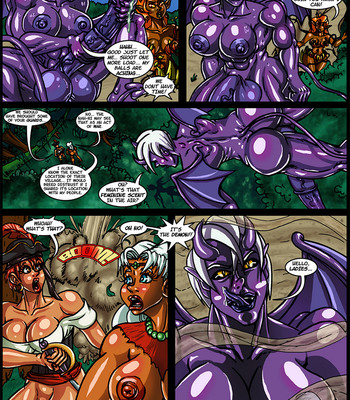 Side Dishes 2 – Cap'n Lily On Foo-Tah Island comic porn sex 029