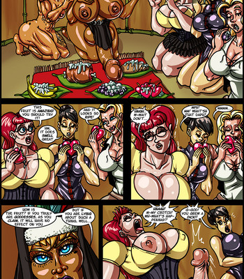 Side Dishes 2 – Cap'n Lily On Foo-Tah Island comic porn sex 030