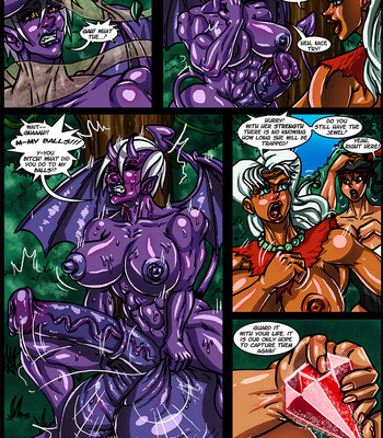Side Dishes 2 – Cap'n Lily On Foo-Tah Island comic porn sex 037