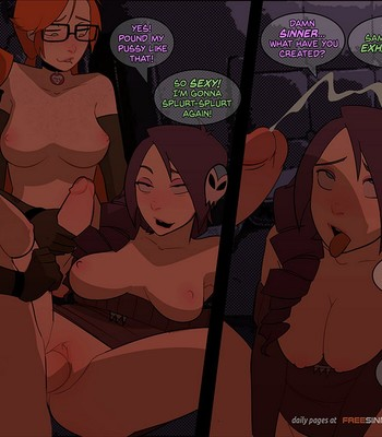 Silly Twins VS Zone comic porn sex 012