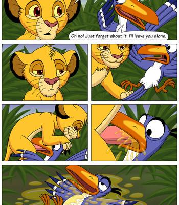 Simba Sex comic porn sex 005