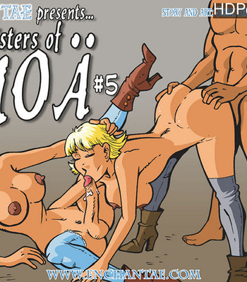 Porn Comics - Sisters Of Anoa 5 – The Little Shop Of Lust
