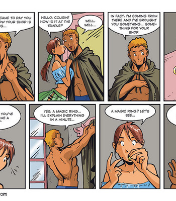 Sisters Of Anoa 5 – The Little Shop Of Lust comic porn sex 003