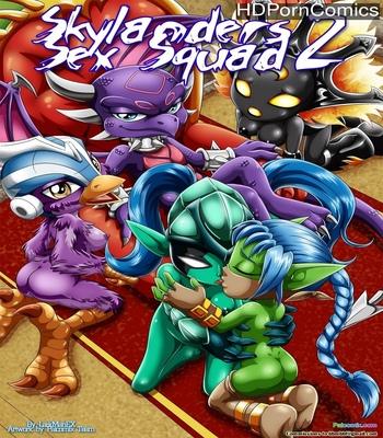 Porn Comics - Skylanders Sex Squad 2