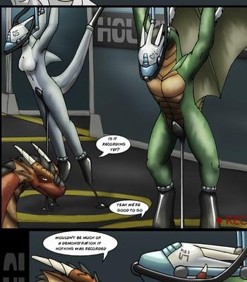 Porn Comics - Slave Ball