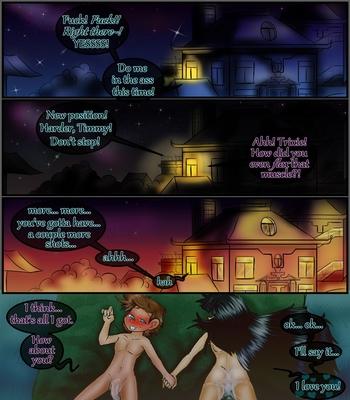 Sleepin-Over 39 free sex comic