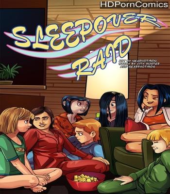 Porn Comics - Sleepover Raid