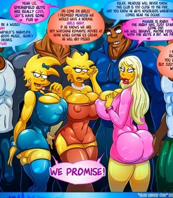 Slut Night Out comic porn sex 002
