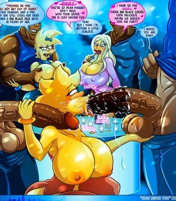 Slut Night Out comic porn sex 003