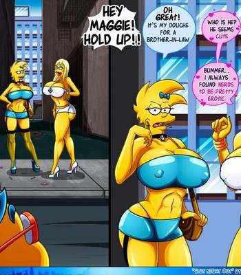 Slut Night Out comic porn sex 027