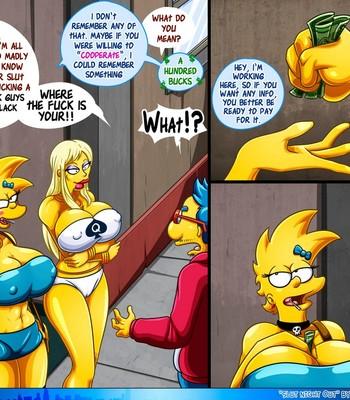 Slut Night Out comic porn sex 028