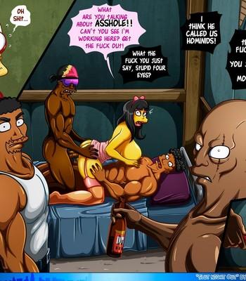 Slut Night Out comic porn sex 030