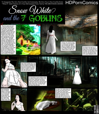 Porn Comics - Snow White And The 7 Goblins