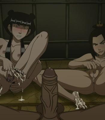 Sokka's Jail Visit comic porn sex 004