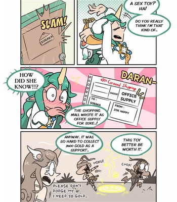 Soraka And The Void Banana! comic porn sex 005
