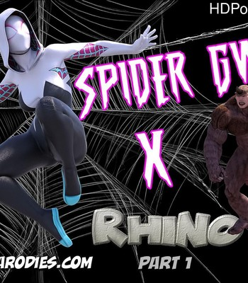 Porn Comics - Spider Gwen x Rhino 1