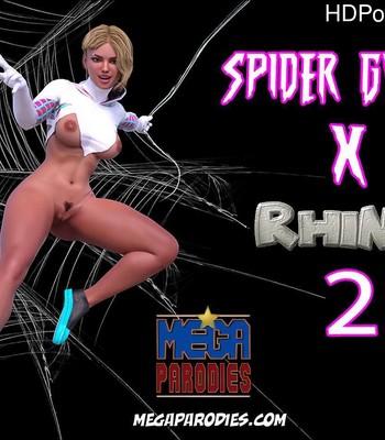 Porn Comics - Spider Gwen x Rhino 2
