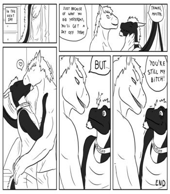 Stallion & Nite comic porn