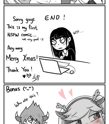 Star's Christmas comic porn sex 006