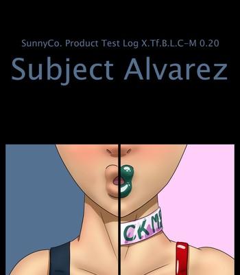 Porn Comics - Subject Alvarez