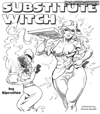 Porn Comics - Substitute Witch