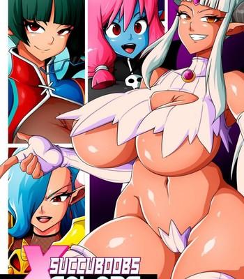 Porn Comics - Succuboobs x Colors 3 – Part 1