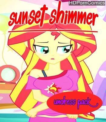 Porn Comics - Sunset Shimmer Undress Pack