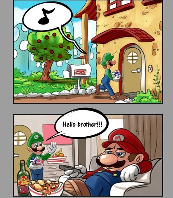 Super Mario - 50 Shades Of Bros comic porn sex 002