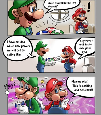 Super Mario - 50 Shades Of Bros comic porn sex 003