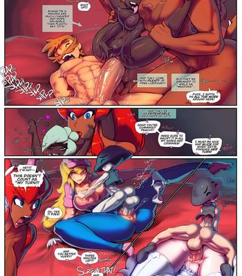 Super Mario Fuck Party comic porn sex 003