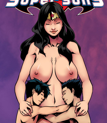 Porn Comics - Super Sons 2