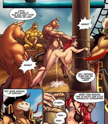 Tales Of Bal'Rana – Crossed And Boned comic porn sex 017