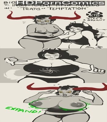 Porn Comics - Teats Of Temptation