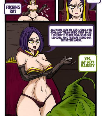 Teemo Oddisey 8 comic porn sex 009