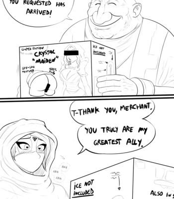 Porn Comics - Templar Assassin x Crystal Maiden