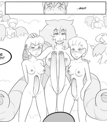 Temple Of The Morning Wood 3 comic porn