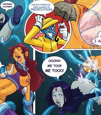 Tentacled Titans comic porn sex 004