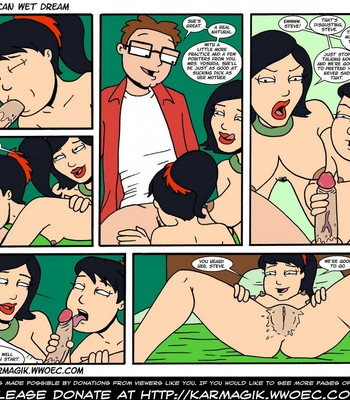 The American Wet Dream comic porn sex 074
