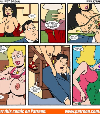 The American Wet Dream comic porn sex 107