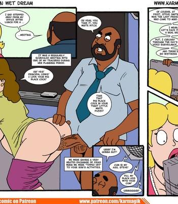 The American Wet Dream comic porn sex 144