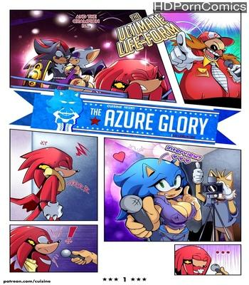 Porn Comics - The Azure Glory