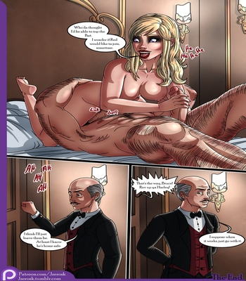 The Bat In Love comic porn